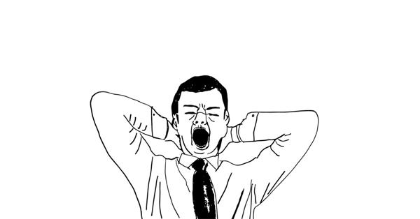 Yawn like a leader!