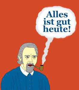superoptimist says all is good here. in german.